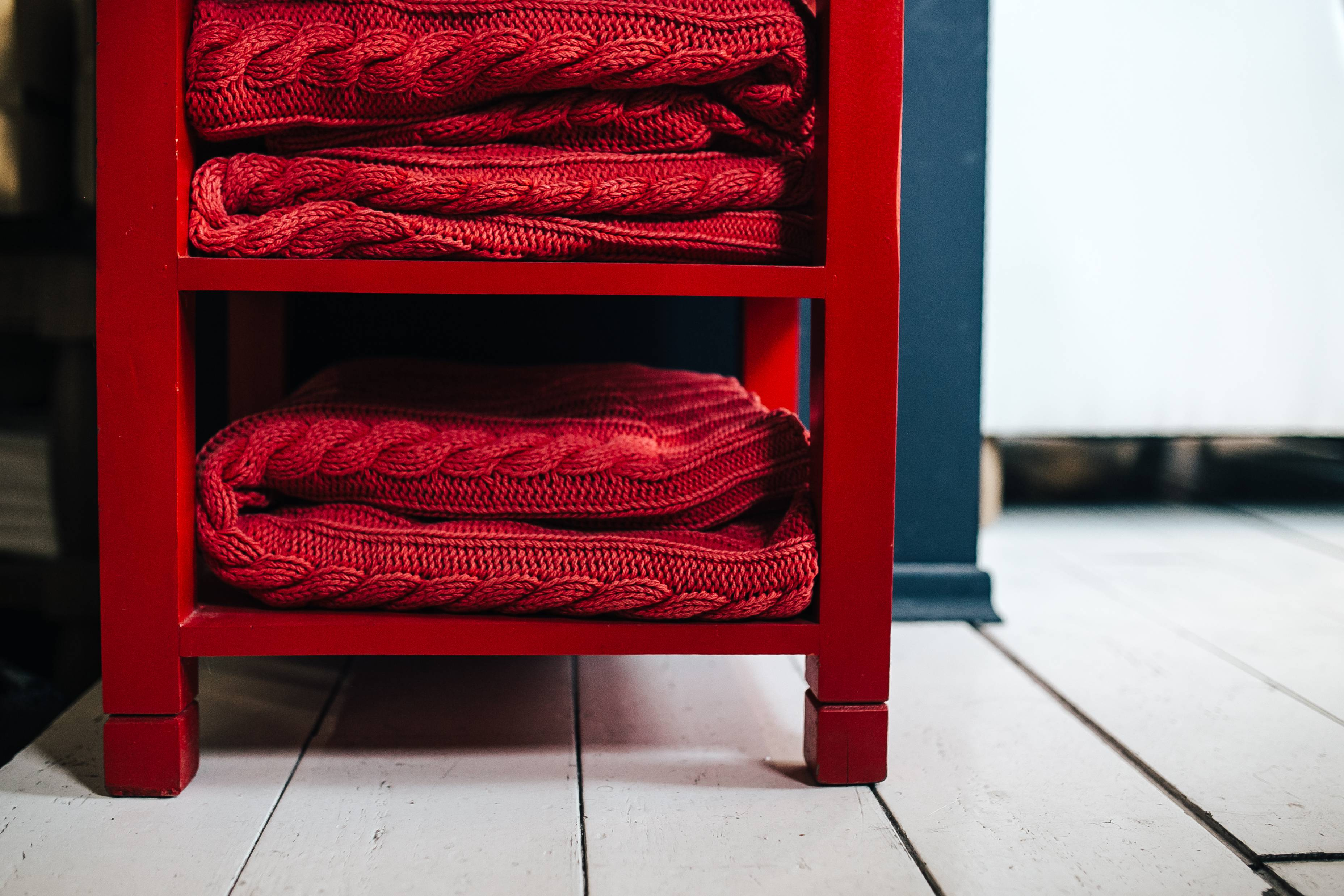 Rood in je interieur - Maison Belle - Interieuradvies