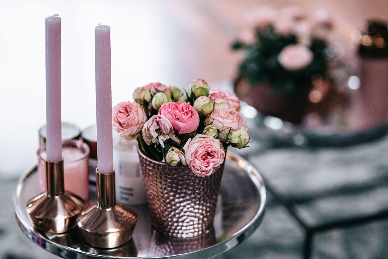 interieurstyling roze