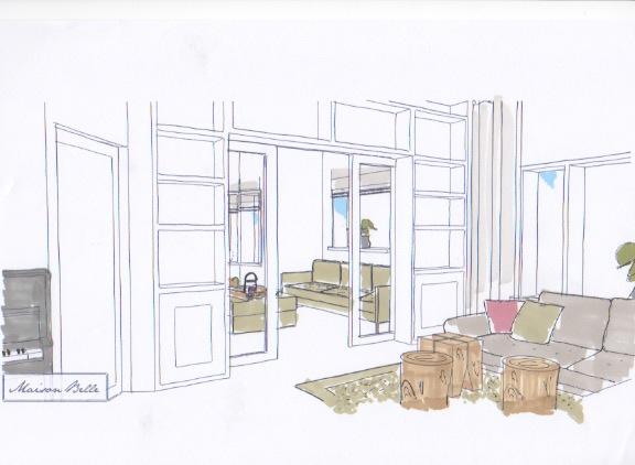 interieurontwerp kamer en suite