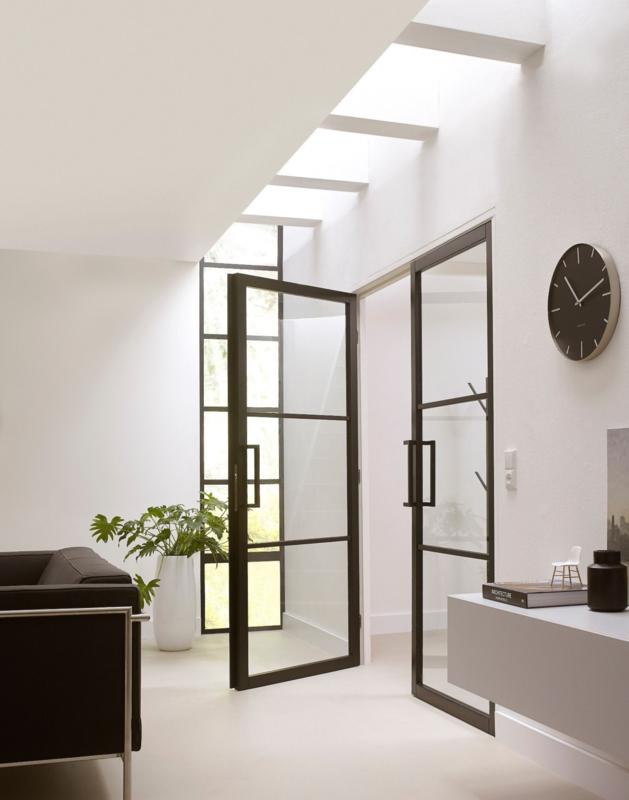 Zwarte Deuren En Kozijnen Maison Belle Interieuradvies