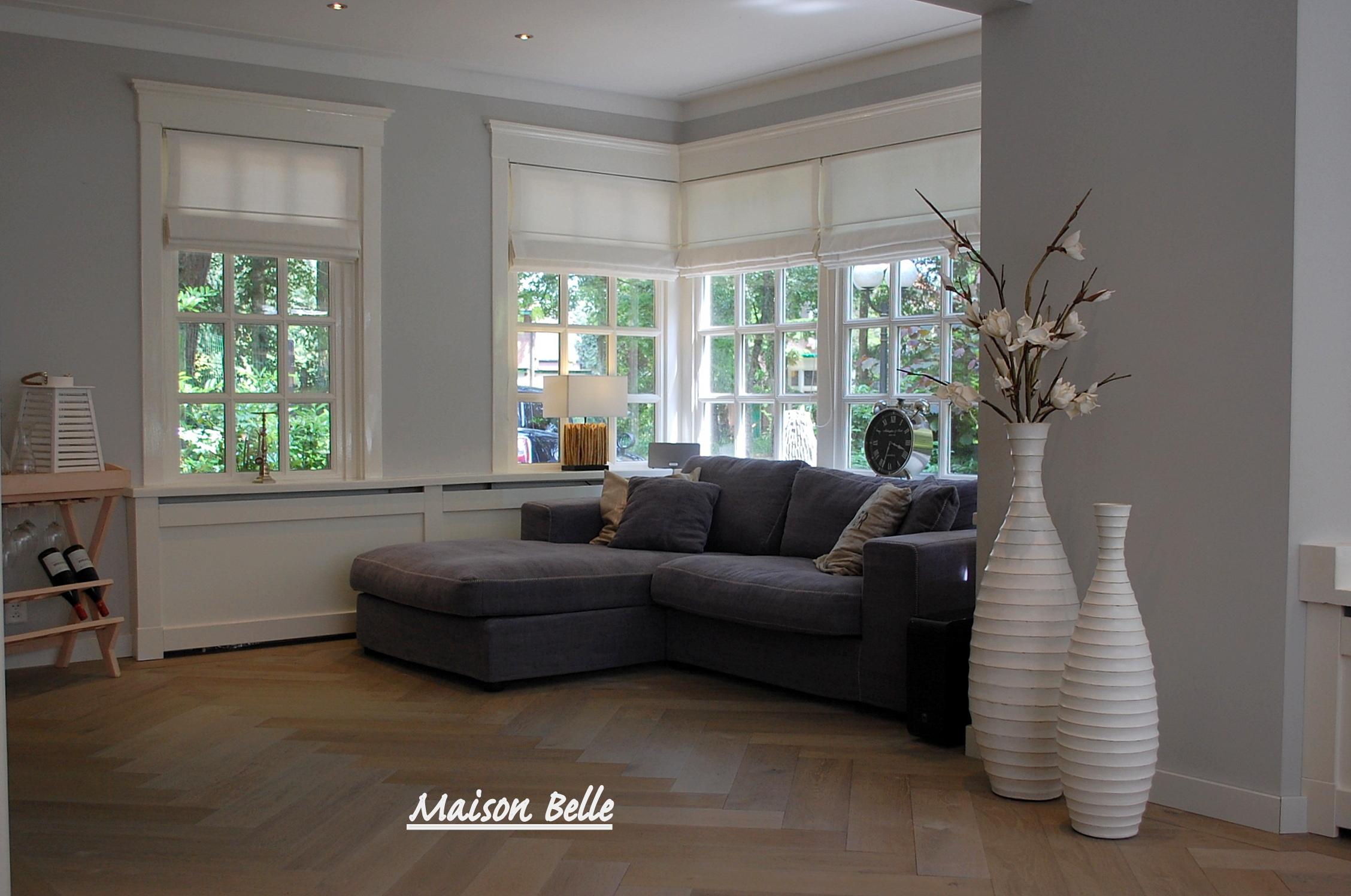 Interieurontwerp verbouwing en renovatie rietgedekte villa for Kleuren woonkamer landelijk