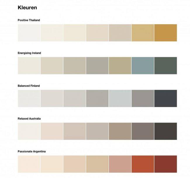 flexa couleur locale kleuren