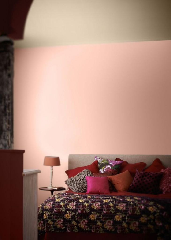 warme kleuren slaapkamer