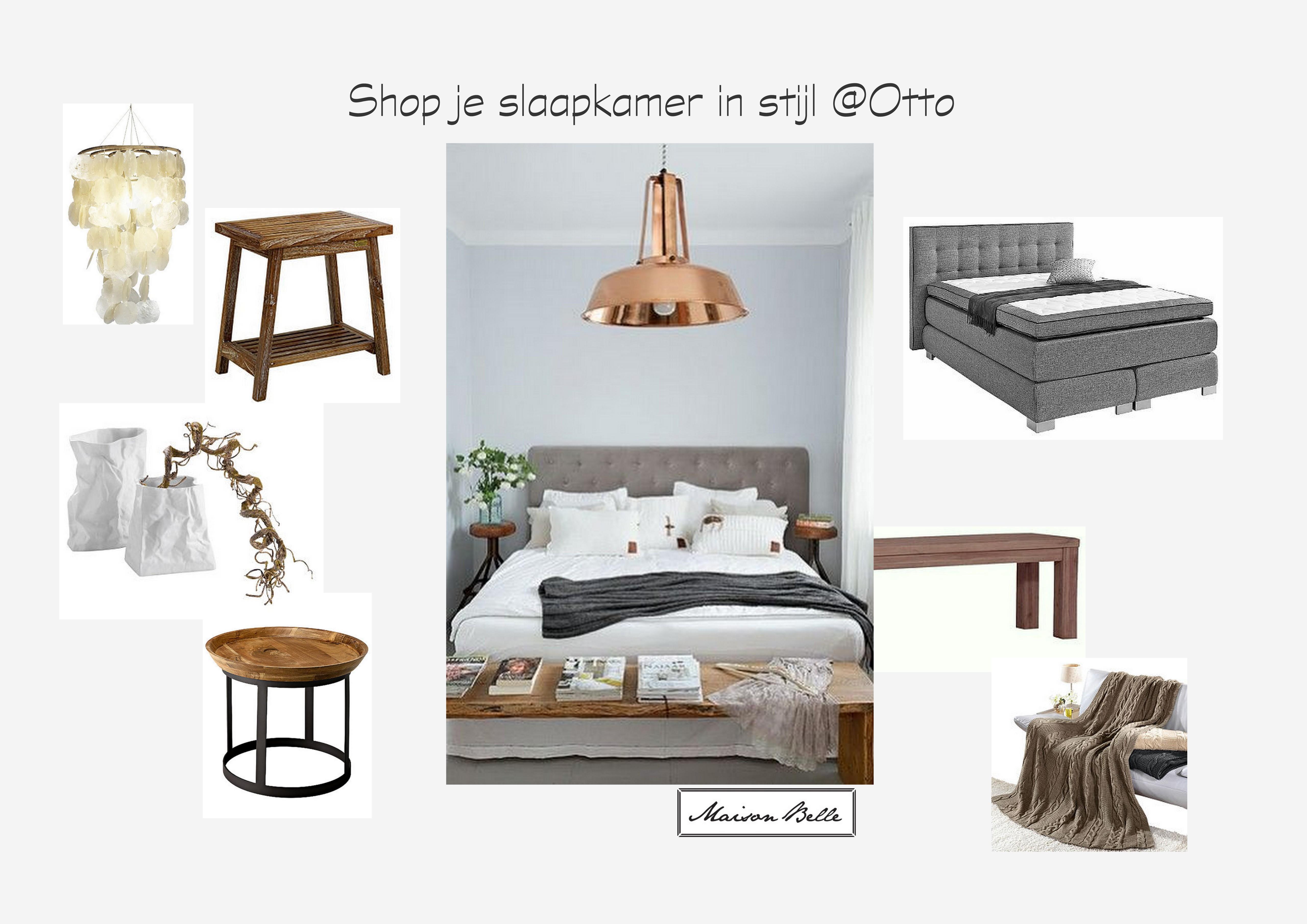 Stijlvolle slaapkamer - Maison Belle - Interieuradvies