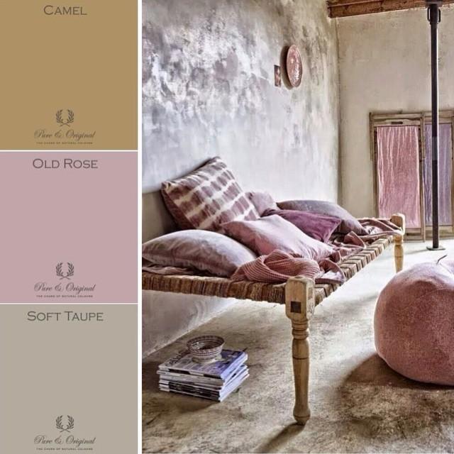 zomer kleuren camel oud roze taupe