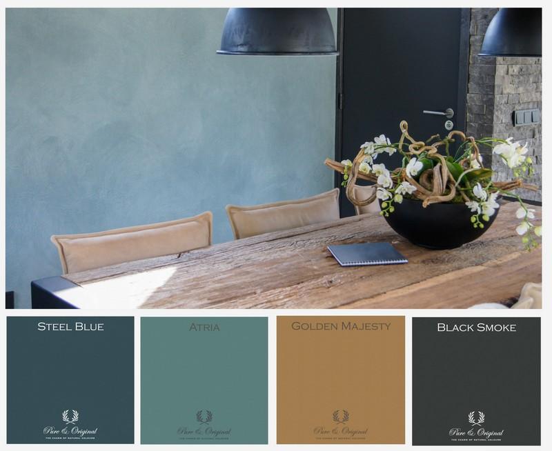 Trendkleur Diep Blauw : Kleurentrend 2016 maison belle interieuradvies