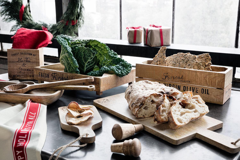 keuken styling hout
