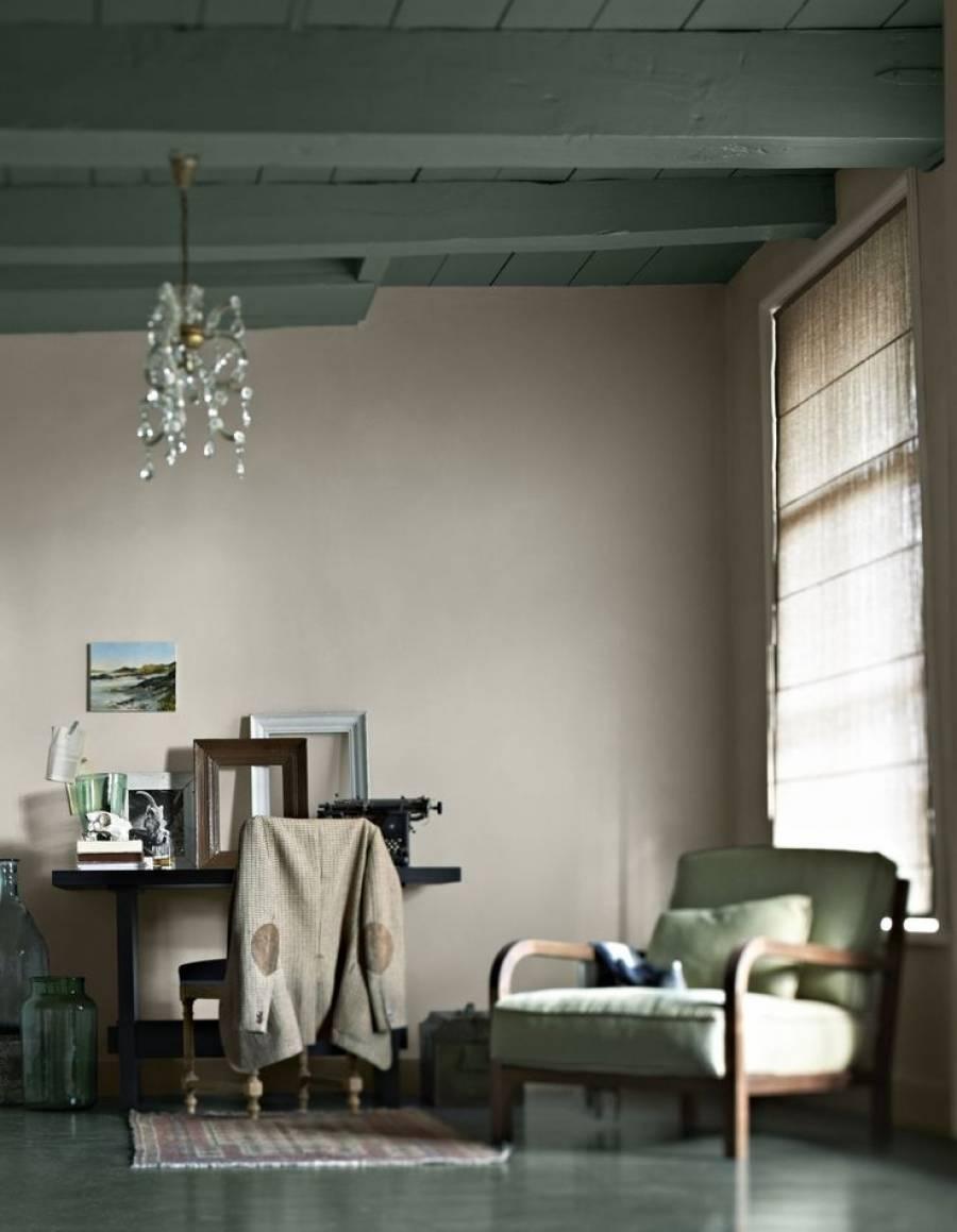 groen verf plafond