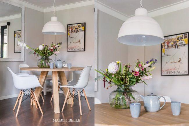 Op De Hoek Van De Ronde Tafel.Interieur Inspiratie Ronde Eettafel Maison Belle