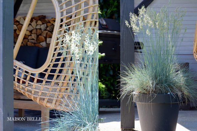 veranda - hangstoel - Maison Belle- tuinblog - hkliving - kapschuur
