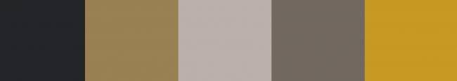 kleurenpalet oker geel grijs