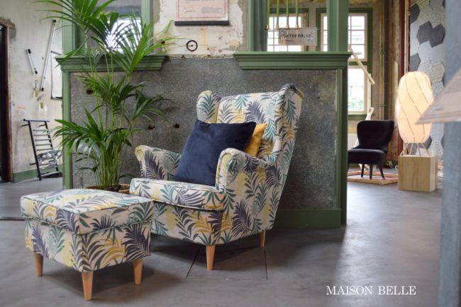 Ikea 2018 fauteuil botanisch
