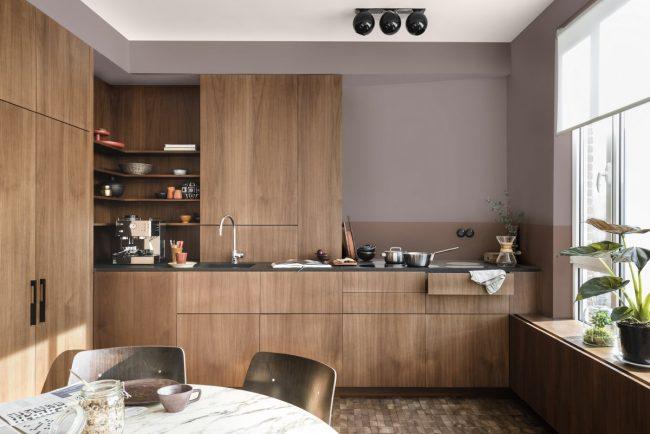 keuken wanden schilderen heartwood