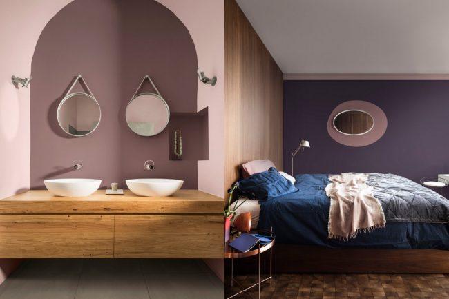kleur slaapkamer badkamer blog