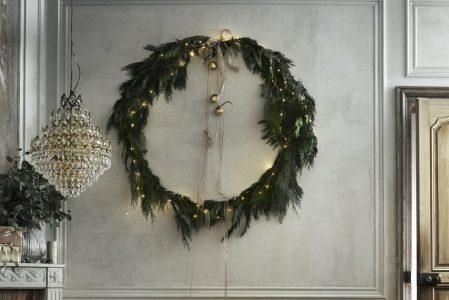 kerstkrans maken blog
