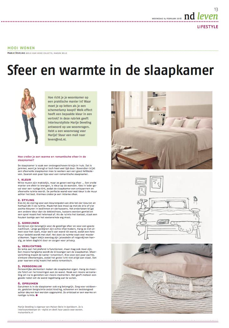 Tips voor een romantische slaapkamer - Maison Belle - Interieuradvies