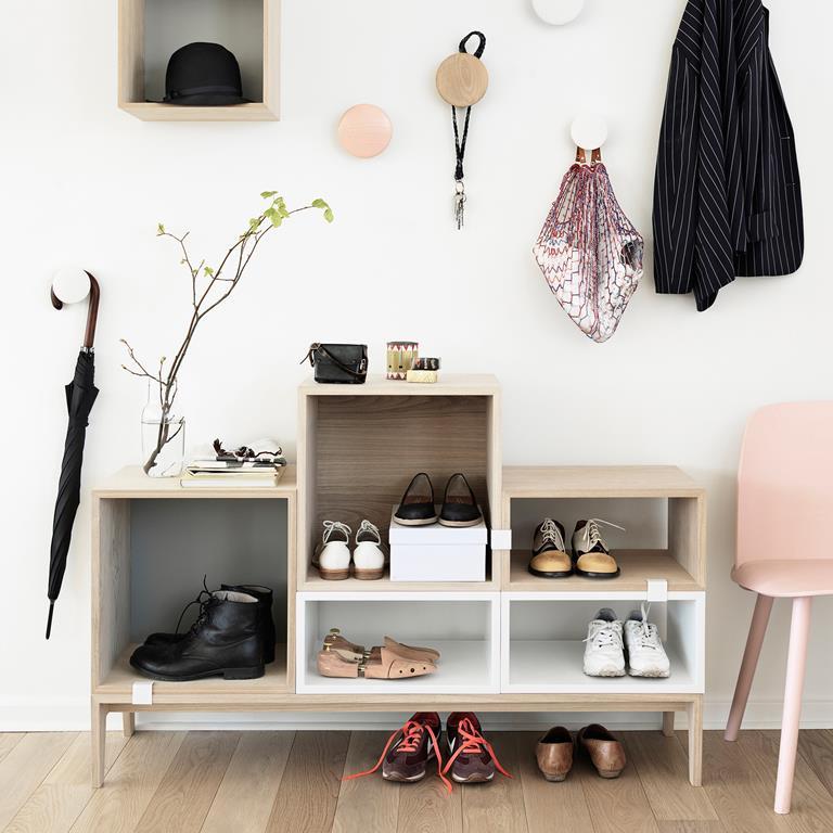 Kleine hal inrichten maison belle interieuradvies - Kleine wandhaken ...