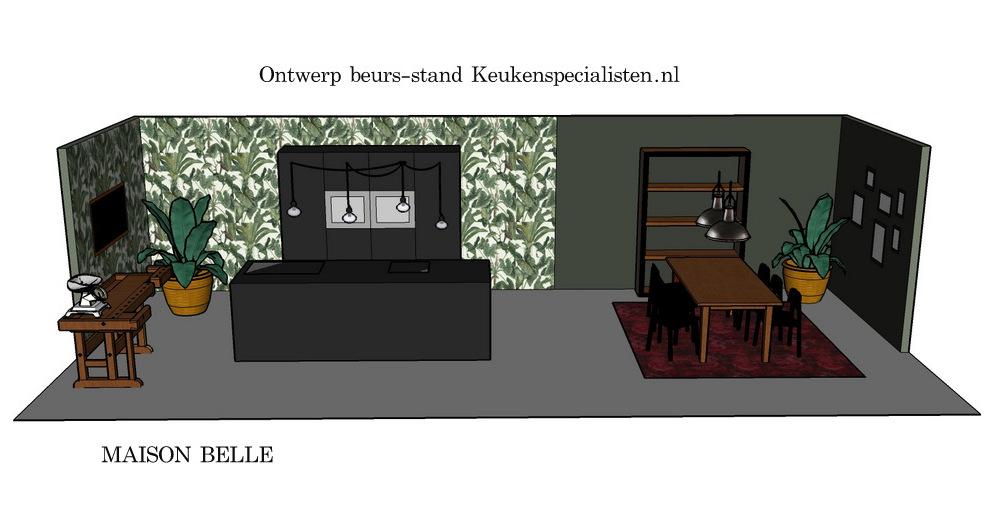 beurs stand ontwerp keuken