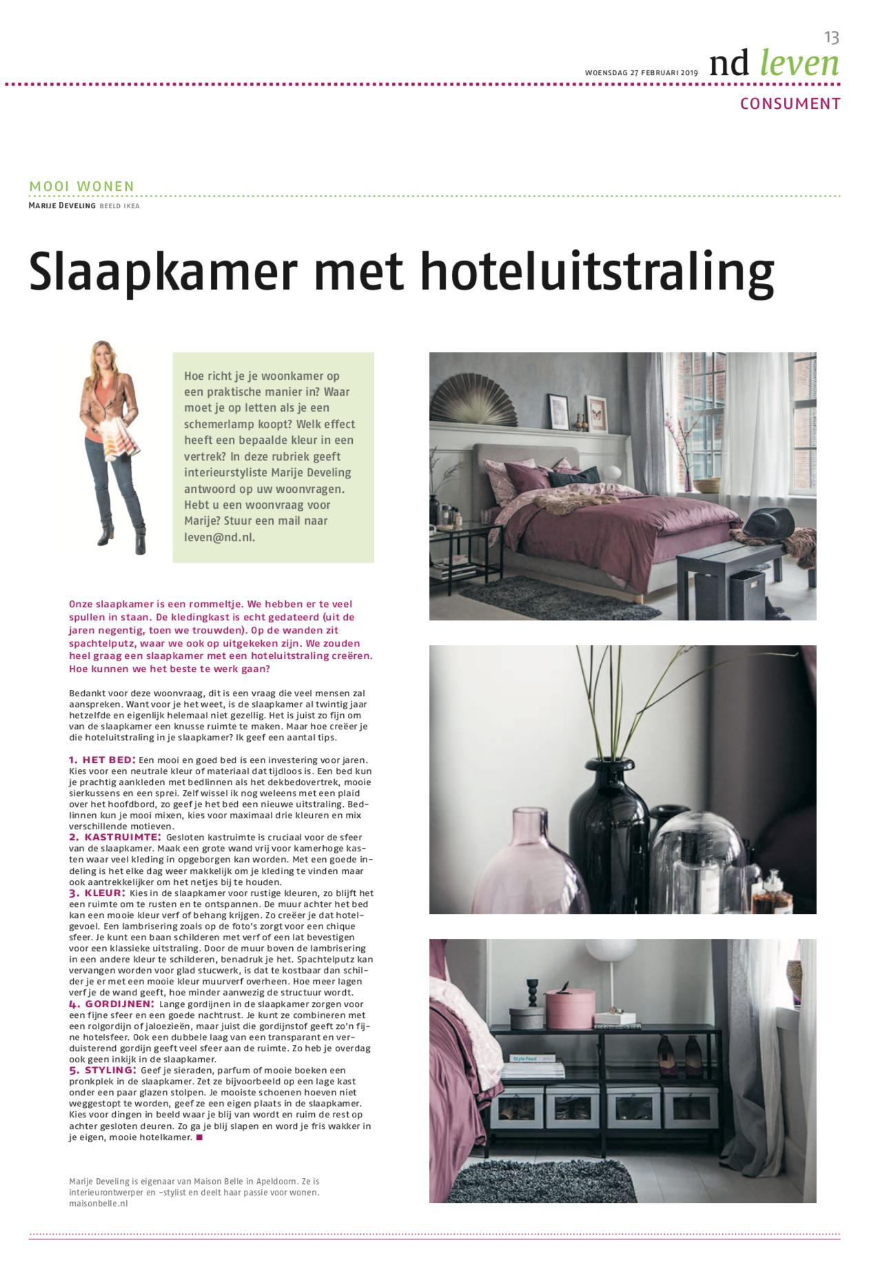 slaapkamer blog