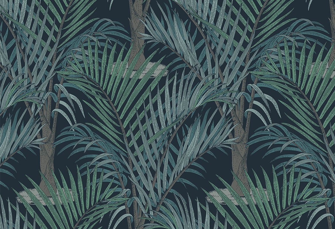 zomer interieur palm