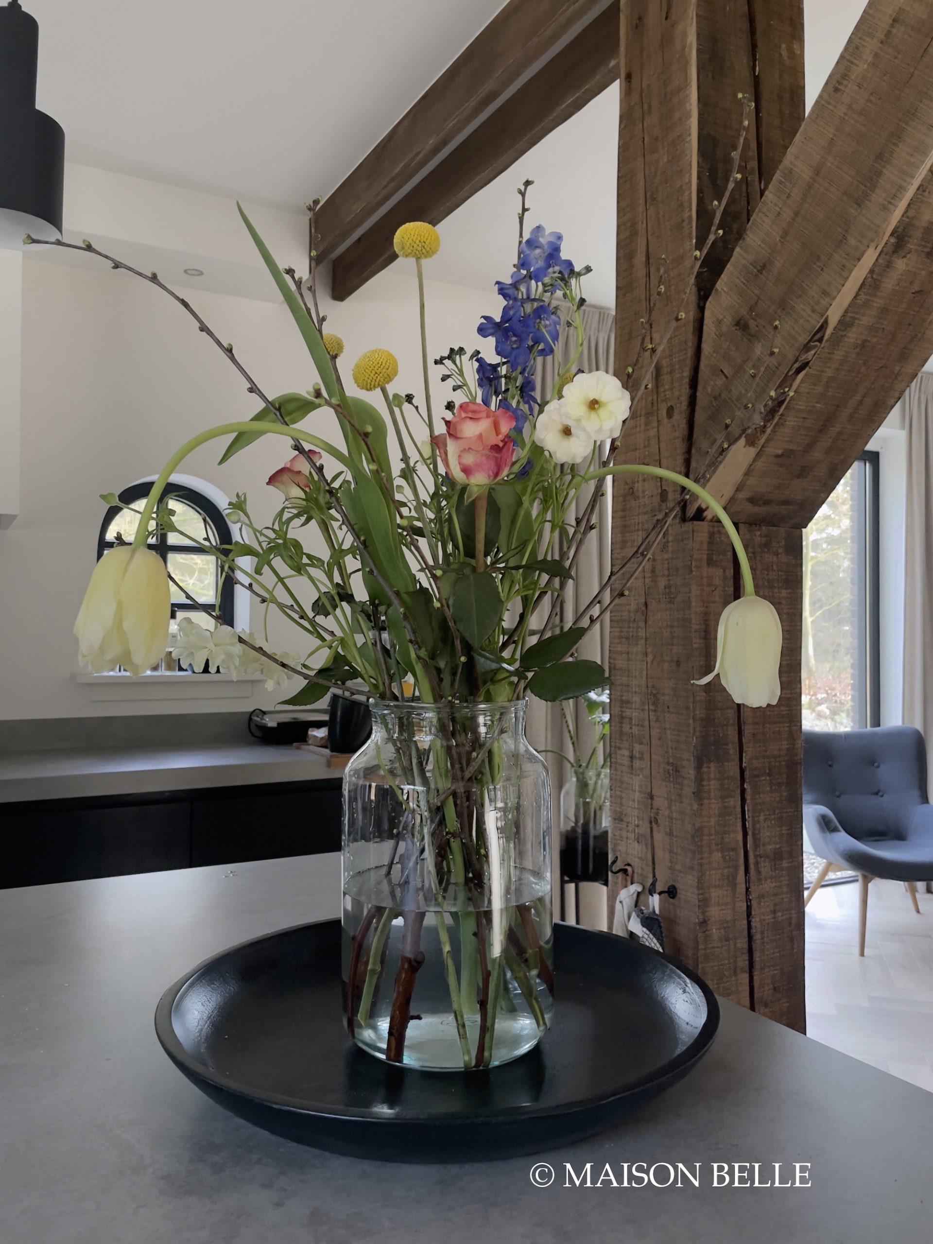 lente in huis bloemen