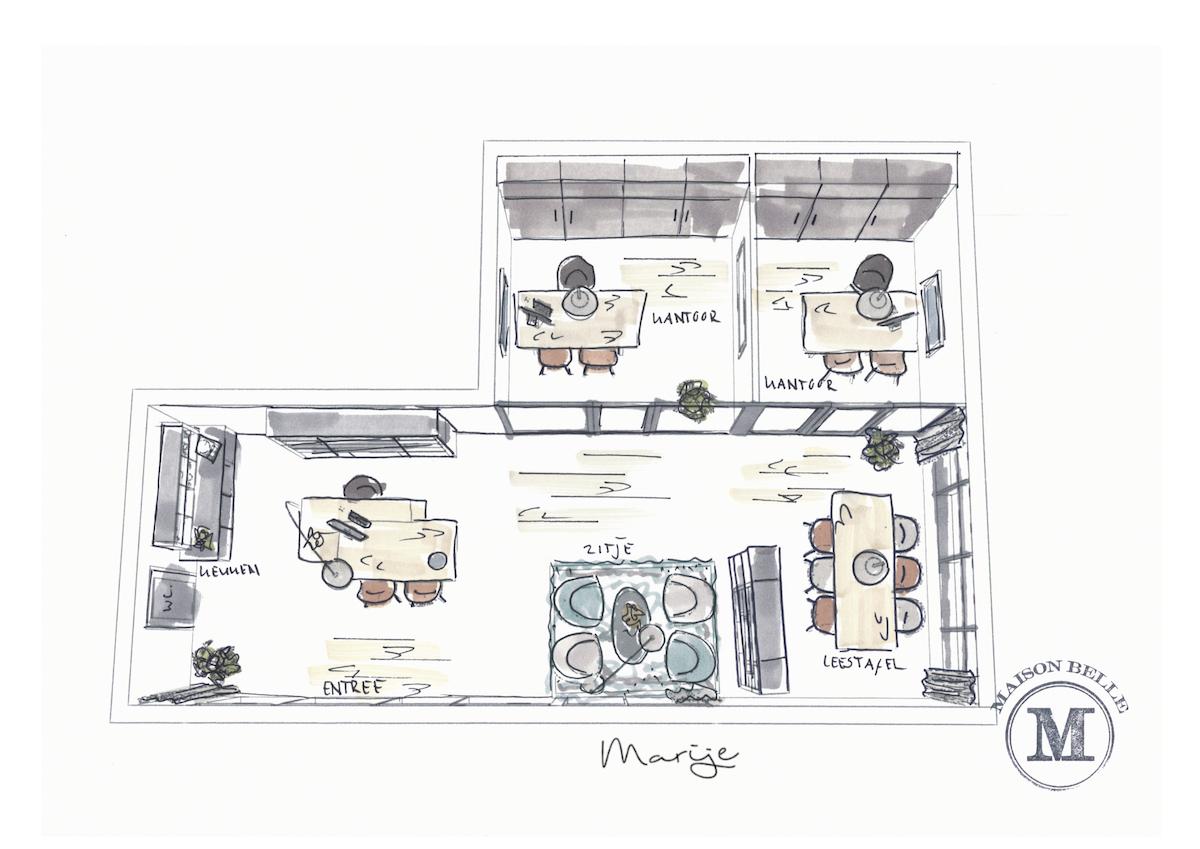 zakelijk interieur ontwerp showroom